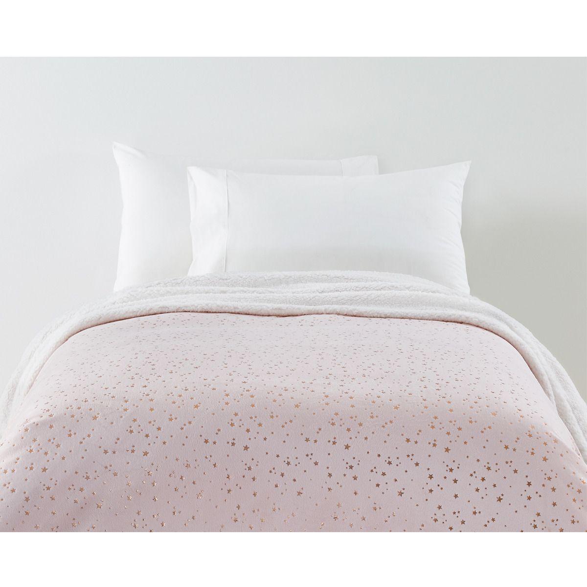 Stardust Reversible Blanket Single Bed Kmart Single Bed Bed Reversible Blanket