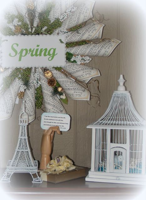 Crafty Home Cottage: Decorating for Easter & Spring