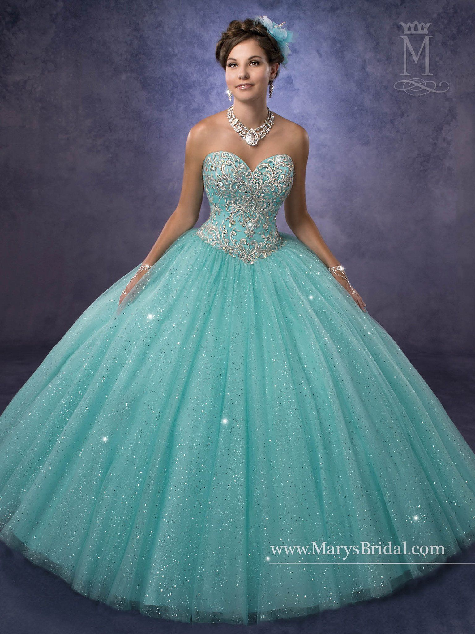 Mary\'s Bridal Princess Collection Quinceanera Dress Style 4Q470 ...