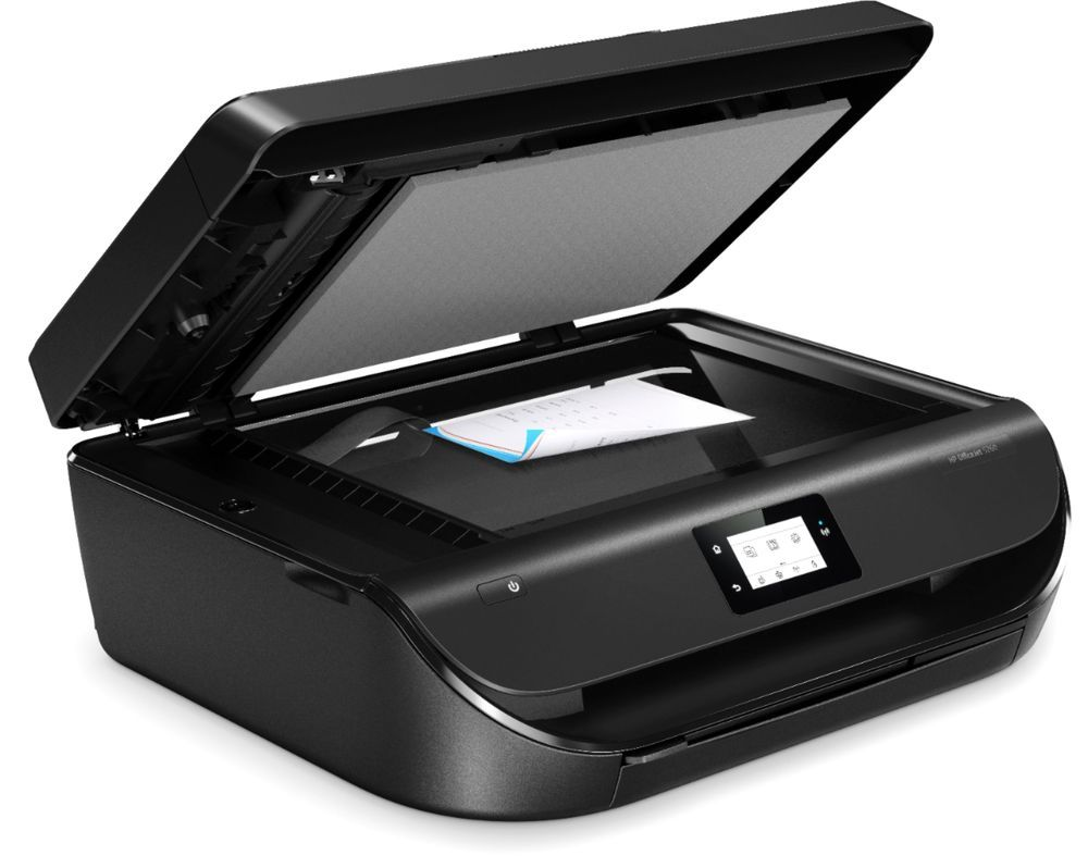 Officejet 5260 Wireless All In One Inkjet Printer With 2 Year Hp Instant Ink Subscription Black Z4b13a B1h Best Buy Hp Instant Ink Mobile Print Printer