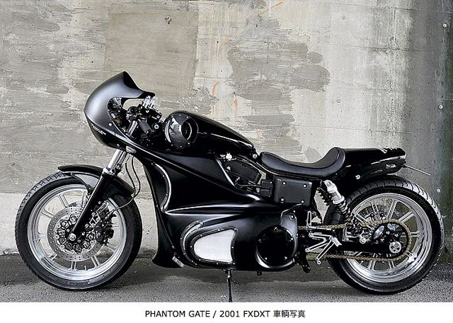 phantom gate bobber/cafe racer hybrid | transportation design