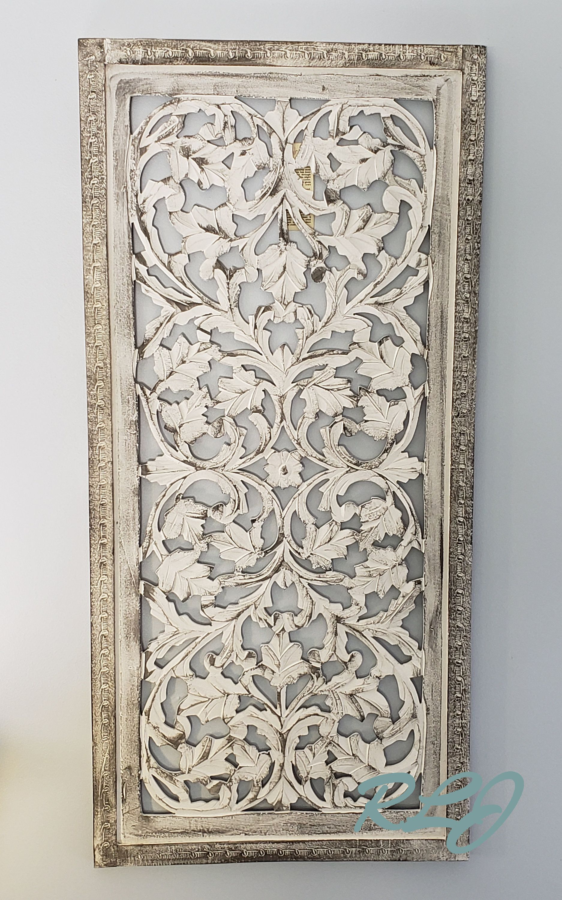Rustic Tuscan Shabby Chic White Washed Carved Wood Wall Art Etsy Carved Wood Wall Art Wood Wall Art Etsy Wall Art