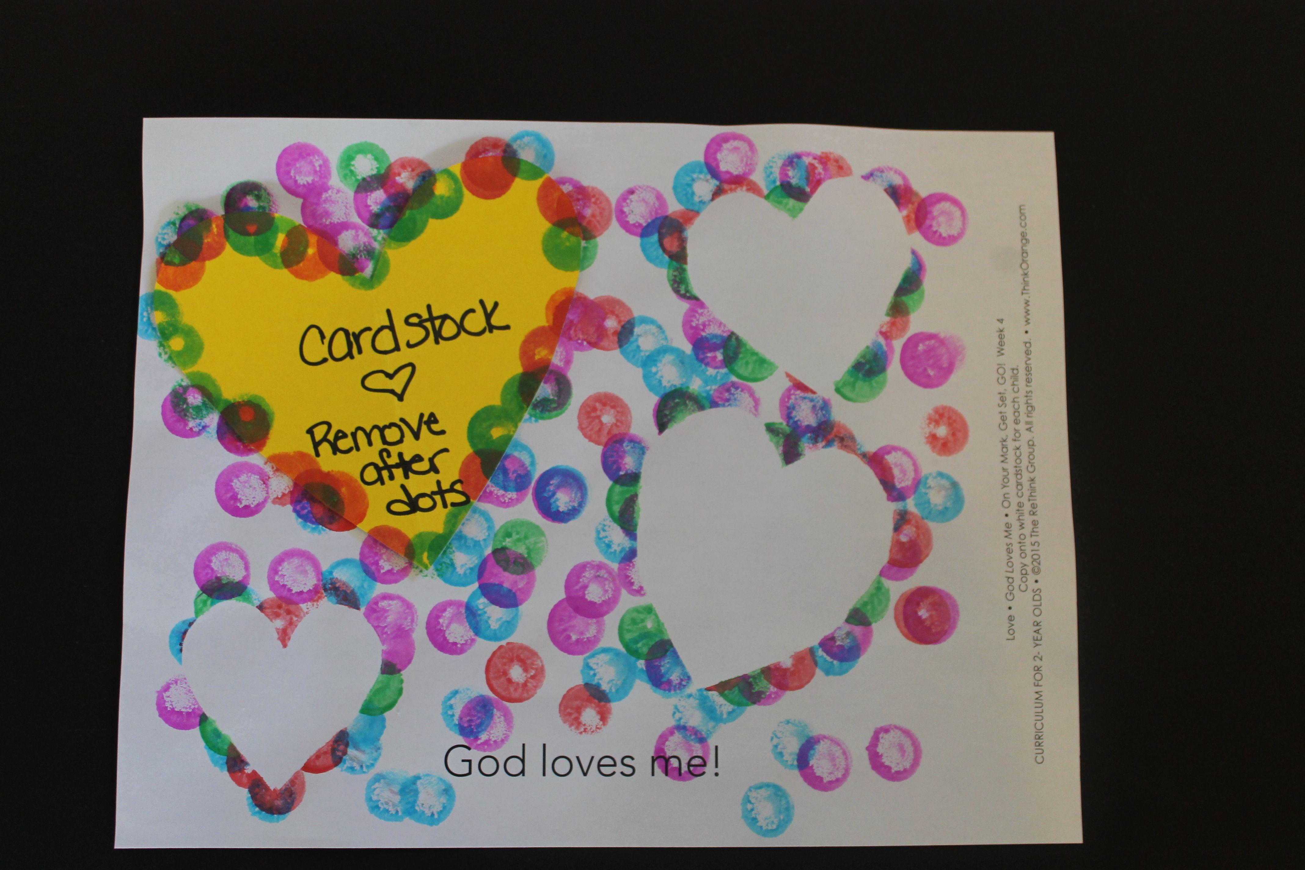 "Example: ""God Loves Me"" - Week 4 - 2s"