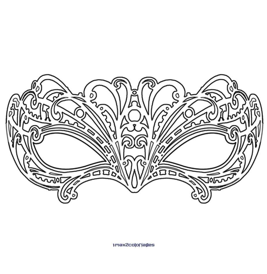 L gant coloriage de masque de carnaval a imprimer des milliers de coloriage imprimable - Coloriage masque a imprimer ...