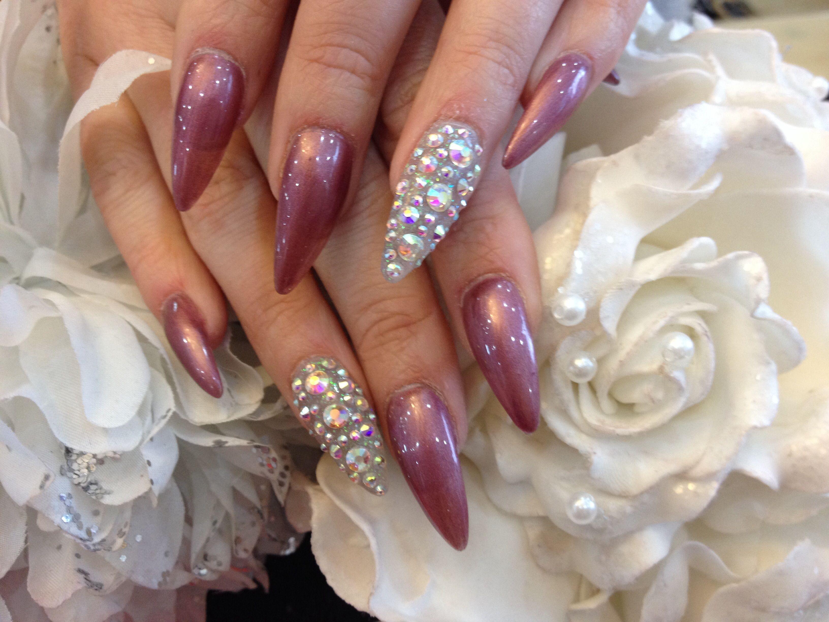 Stiletto Nails Tumblr | Purple Stiletto Nails Tumblr Stiletto nails ...