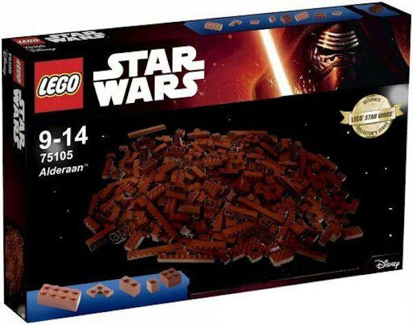 This Lego Alderaan Set Is The Easiest Build Ever Star Wars Things