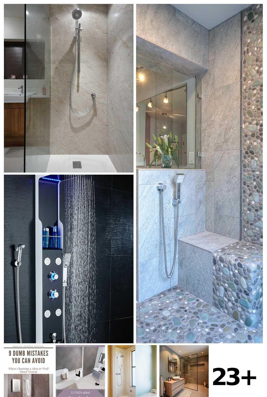 23 Bathroom Shower Panels Ideas In 2020 Diy Bathroom Bathroom Shower Panels Bathroom Decor