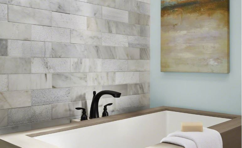 Greecian White Marble 3x6 Subway Tile Features Whites And Grays And Is Available In 12x12 Mesh Backe Marble Shower Tile White Subway Tile 3x6 White Subway Tile