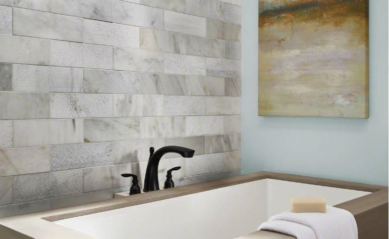 greecian white marble 3x6 subway tile