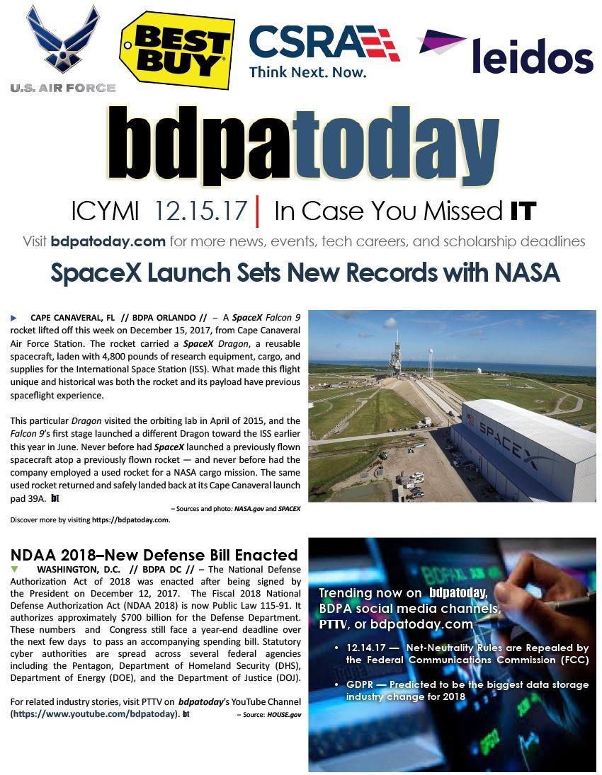 "In Case You Missed ""I.T."" ICYMI CompTIA BDPA blackdata"
