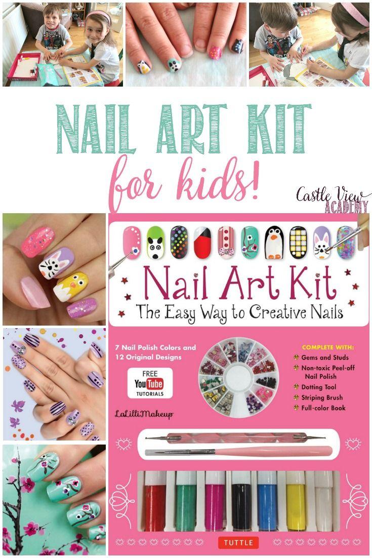 Nail Art Kit For Kids | Crafts | Pinterest | Nail art kits, Craft ...