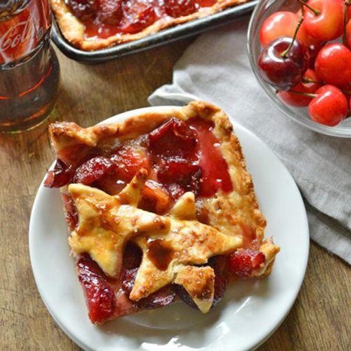 Cherry Cola Slab Pie Recipe - RecipeChart.com