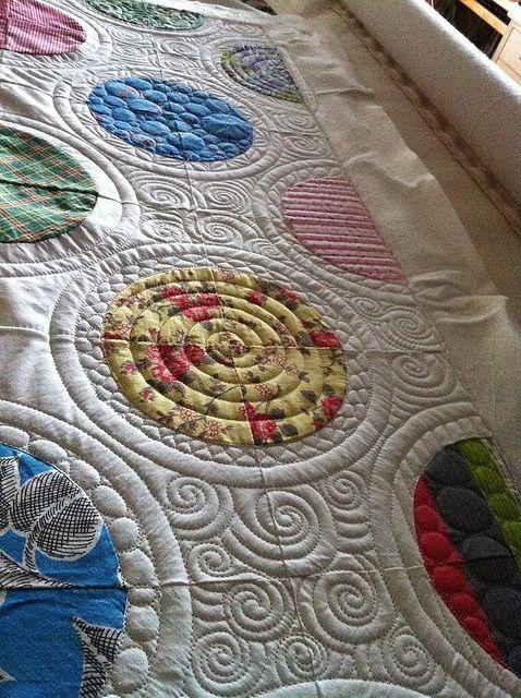 beautiful-circle-curly-q-quilt.jpg | Quilts | Pinterest | Quilting ... : pinterest quilts ideas - Adamdwight.com