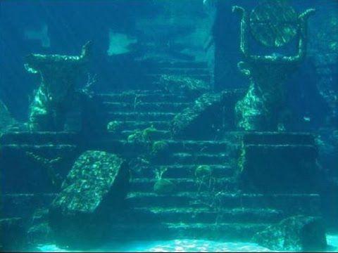 Underwater Ruins Underwater City Atlantis