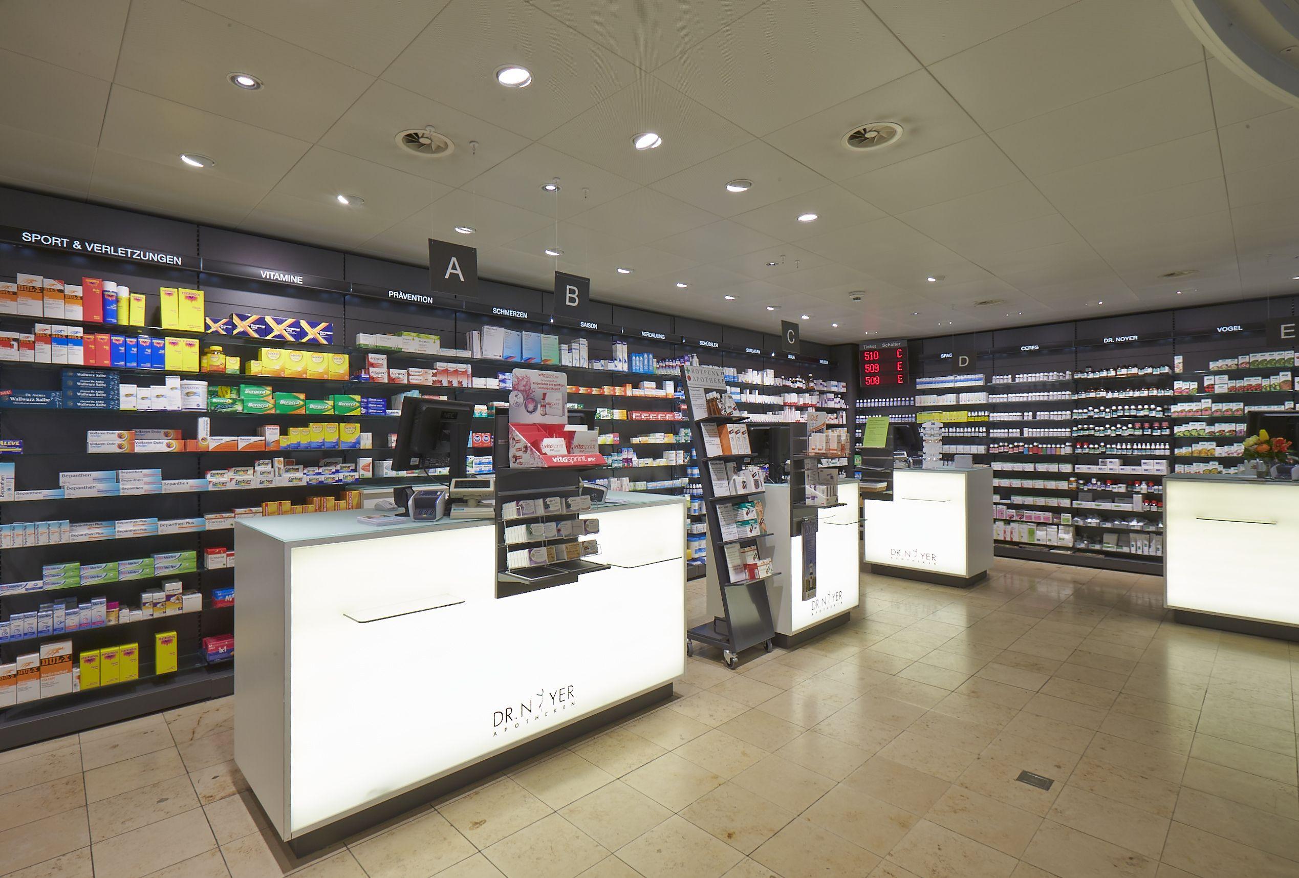Pharmacy Design, Retail, Pharmacy, Shops, Sleeve, Retail Merchandising