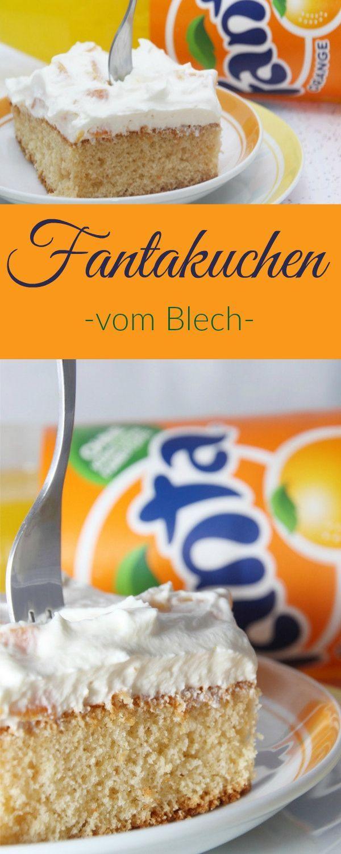 Fantakuchen Vom Blech Gugelhupf Ruhrkuchen Pinterest