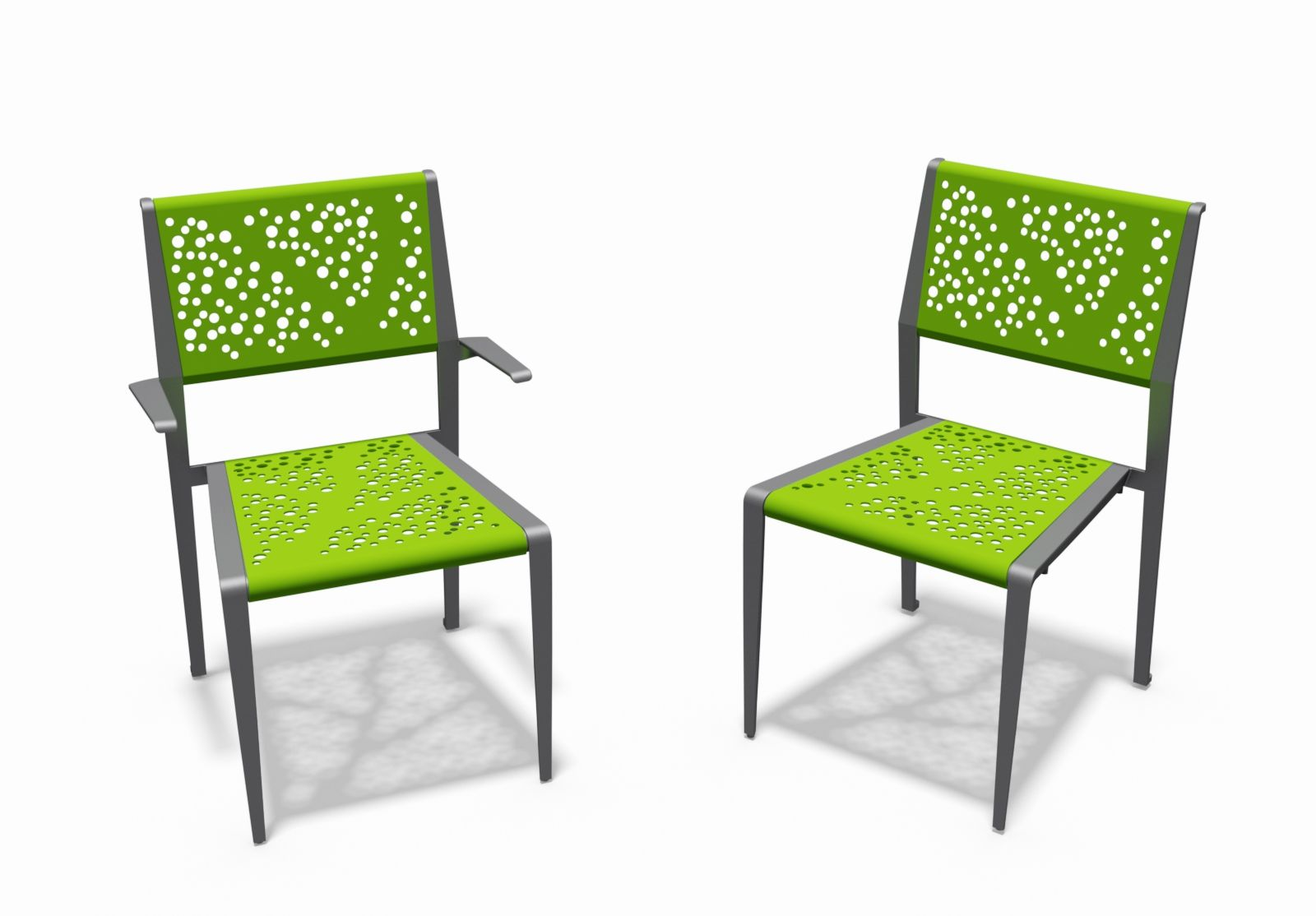 Airi Leaf Cafe Chairs By Anova Furnishings