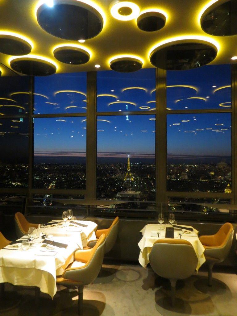 Ciel de paris restaurant view paris france