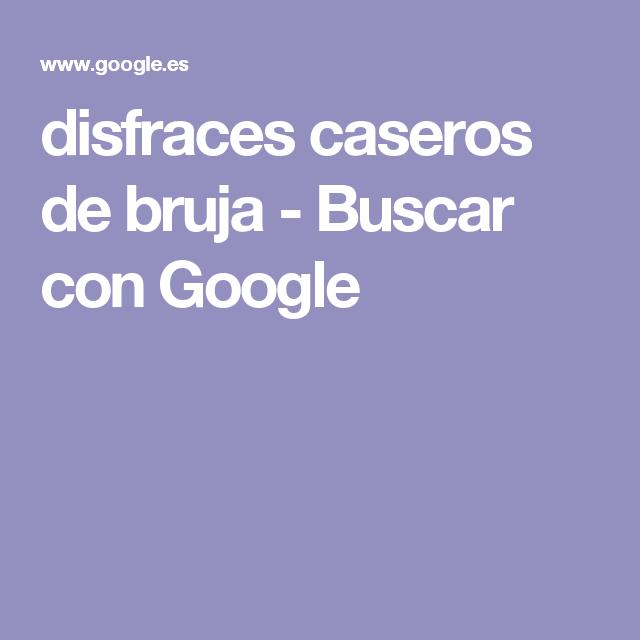 disfraces caseros de bruja - Buscar con Google