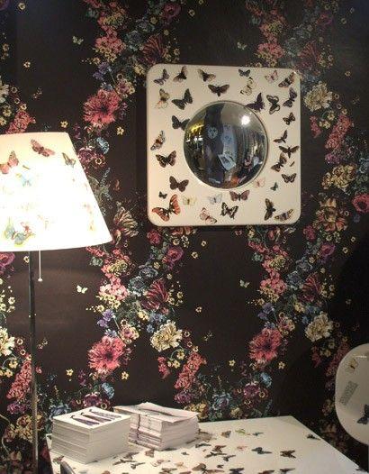 floral tapete fiori von cole son britisch englisch design vintage tapeten mit. Black Bedroom Furniture Sets. Home Design Ideas