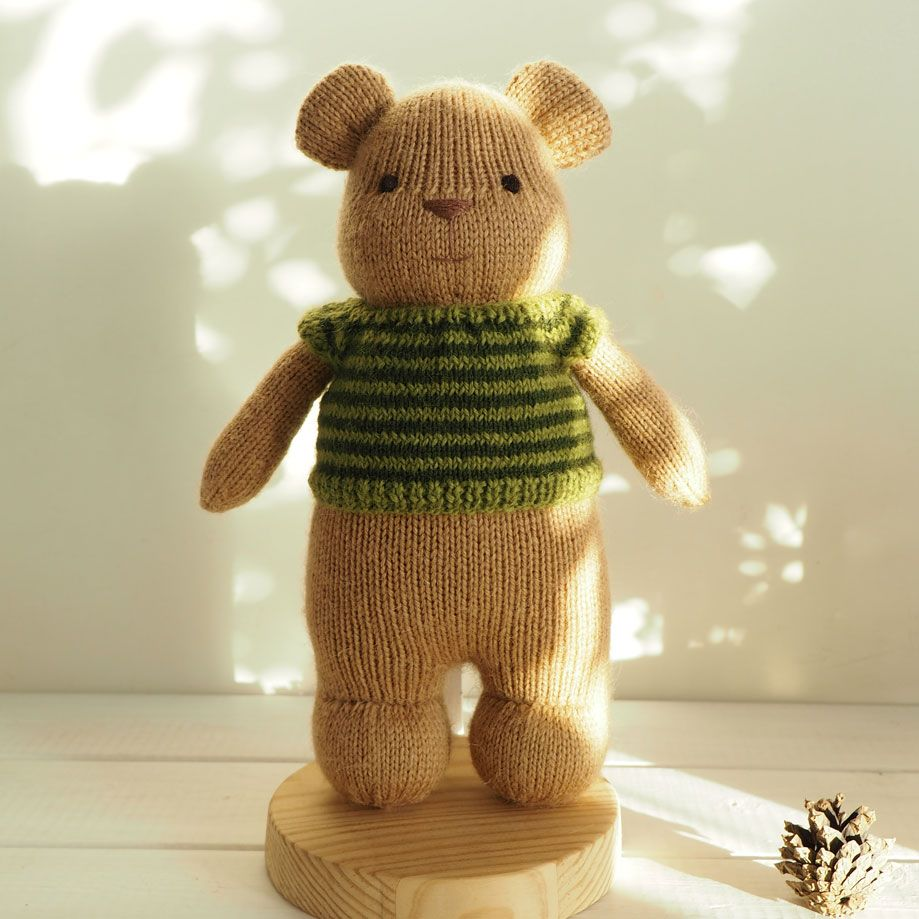 Free pattern knitted bear toy adorable knitting patterns free pattern knitted bear toy adorable bankloansurffo Gallery