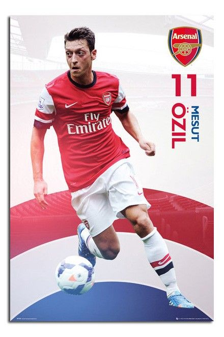 Arsenal Mesut Ozil 13 14 Poster