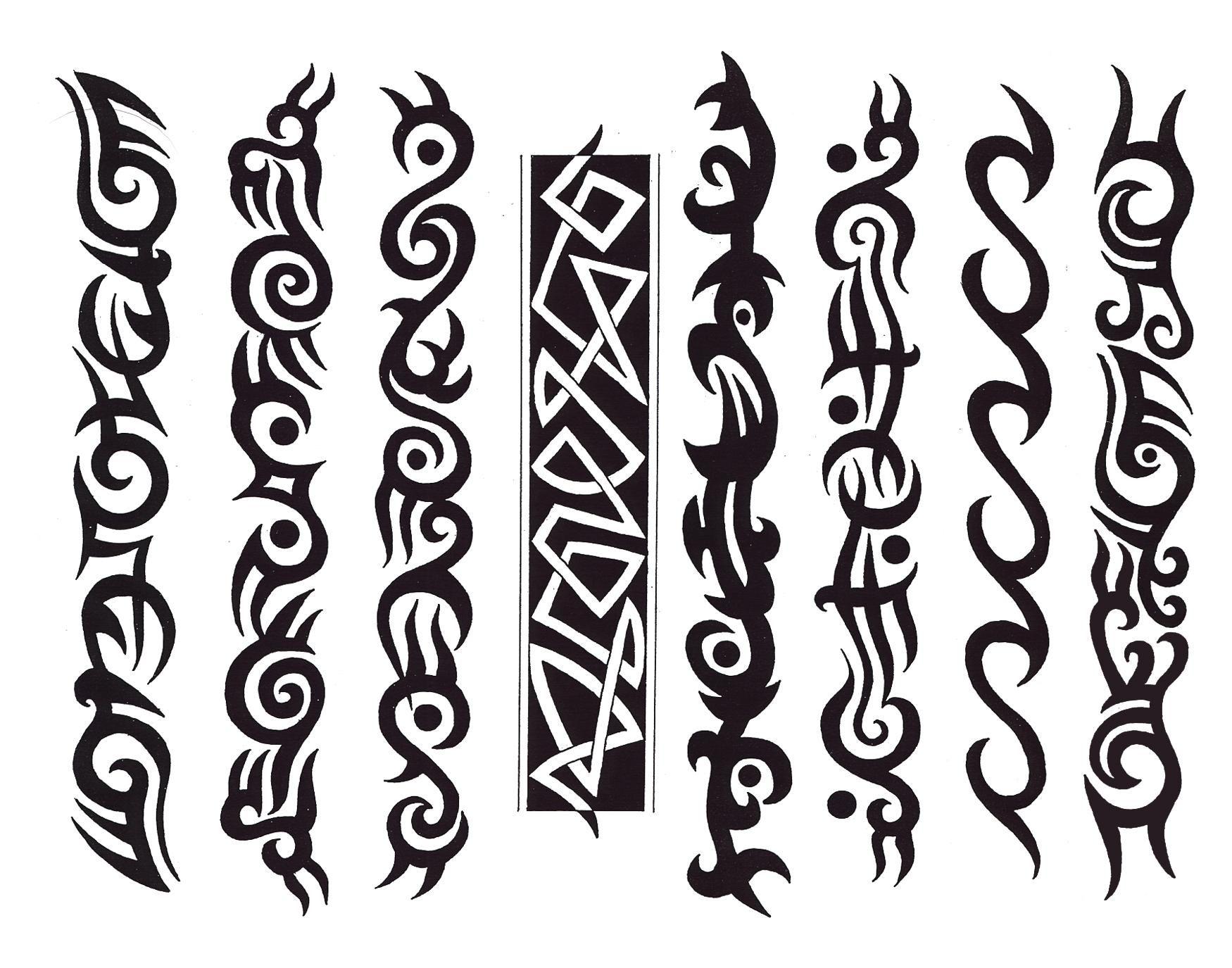 tribal Tribal Tattoo Designs Latest Tattoo Designs