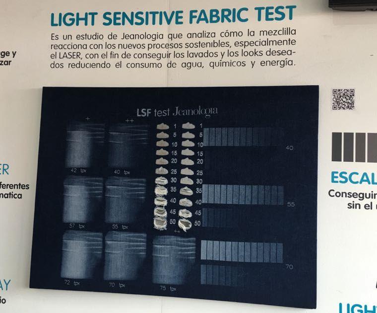 JEANOLOGIA - LIGHT SENSITIVE TEST