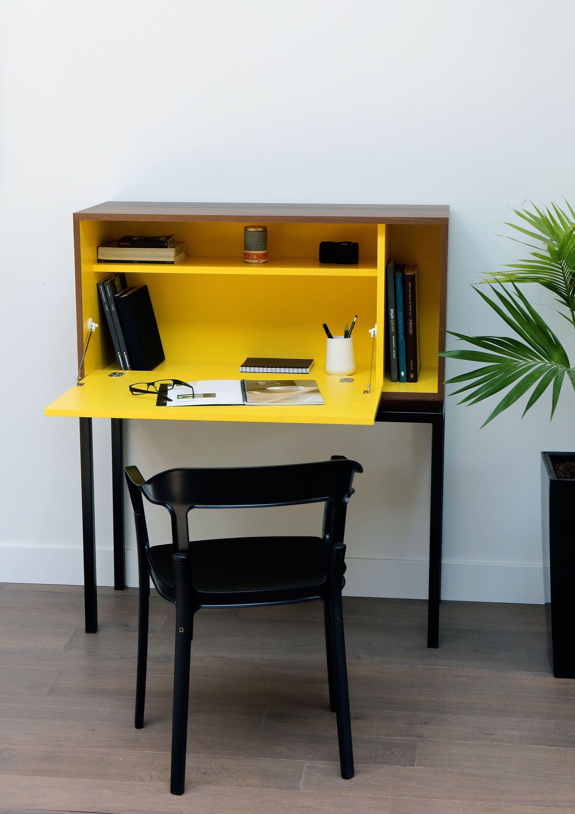 Bureau Ideal Home Office Petite Surface Desk Chez Ksl Living Relooking Bureau Decoration Maison Relooking Meuble