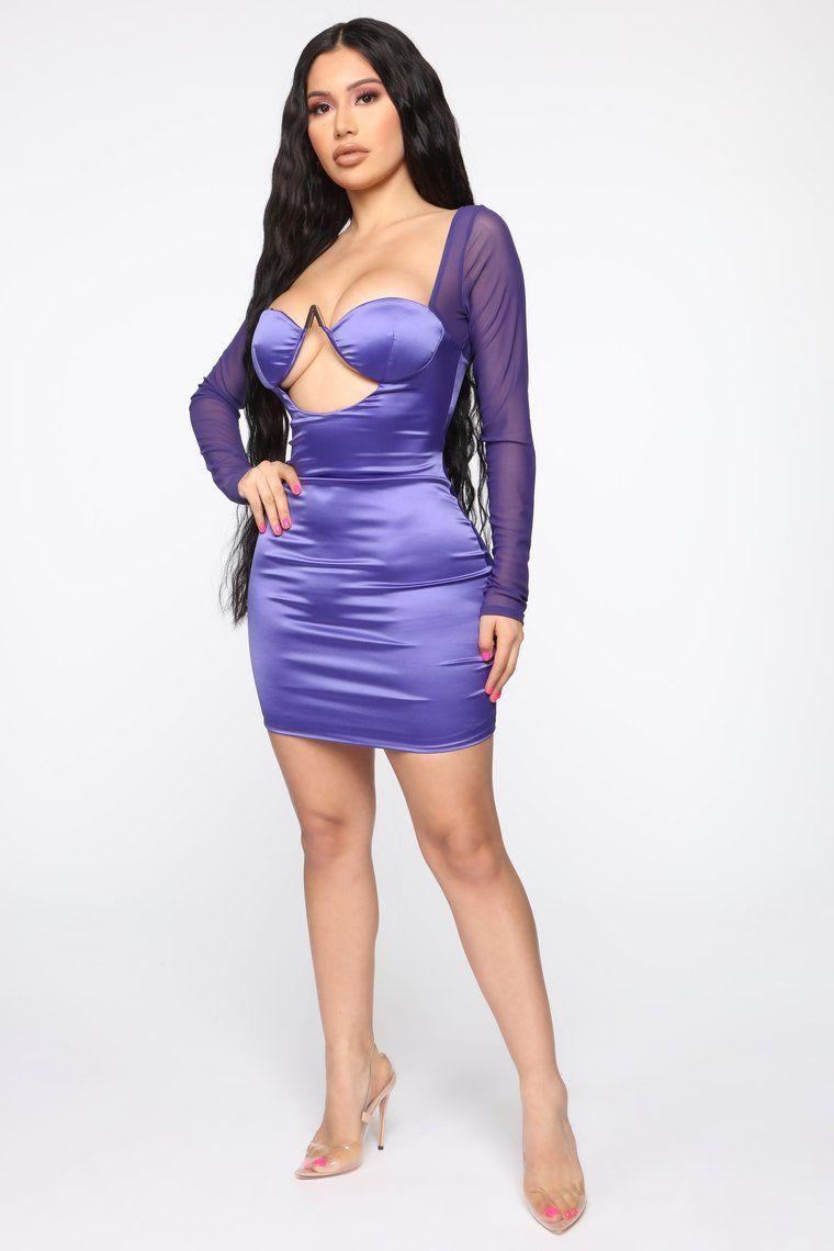 Always A Thrill Satin Mini Dress Purple Satin Mini Dress Mini Dress Purple Mini Dresses [ 1140 x 760 Pixel ]