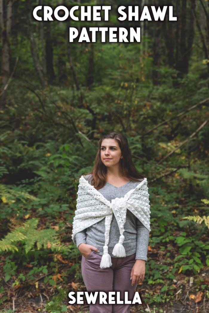 Photo of Crochet Bobble Stitch Shawl – free pattern