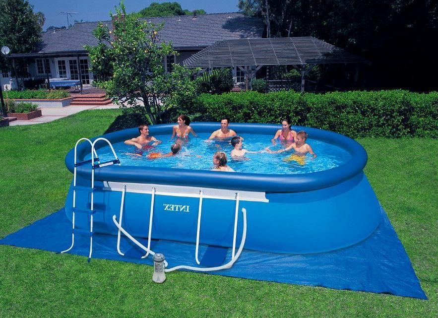 25 Great Backyard Pool Designs Ideas To Add Charm To Your Home Interiorsherpa Backyard Pool Designs Pool Designs Inflatable Pool
