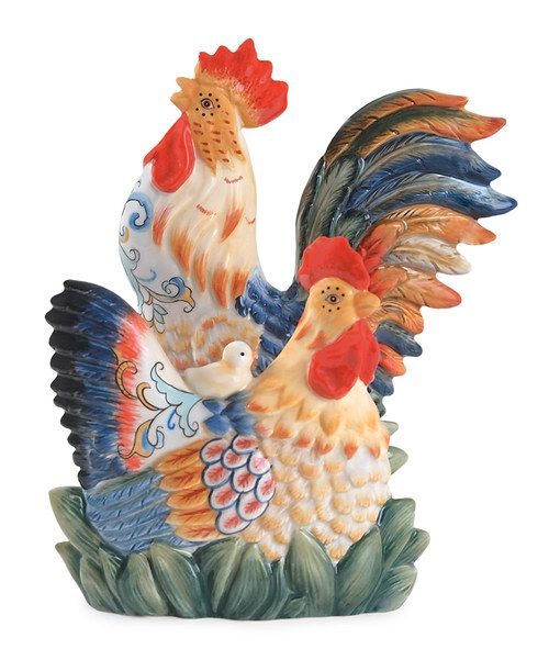 Take A Look At The Fitz And Floyd Ricamo Rooster Napkin