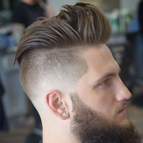 Disconnected Quiff Mens Hairstyles Pompadour Mens Hairstyles Short Mens Hairstyles