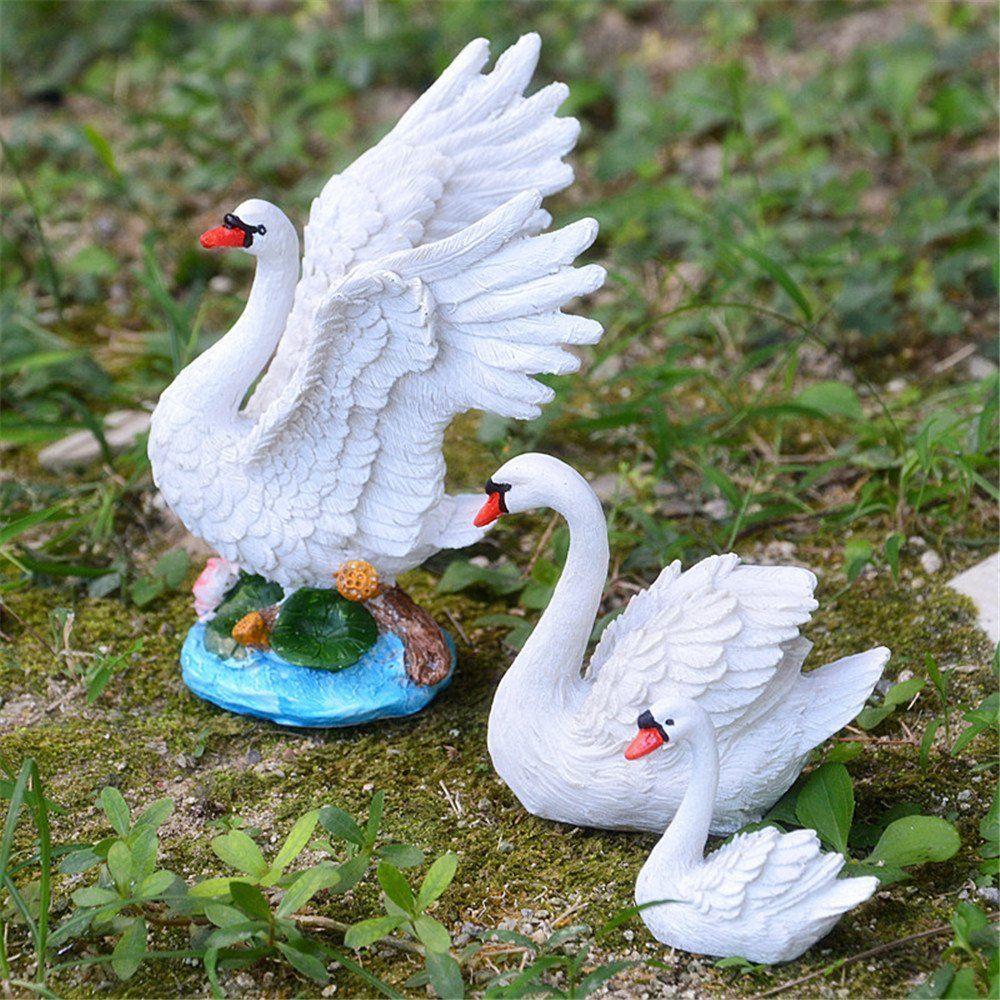 3 X Sea Bird Miniature Fairy Garden Decoration Resin Craft Micro Landscaping
