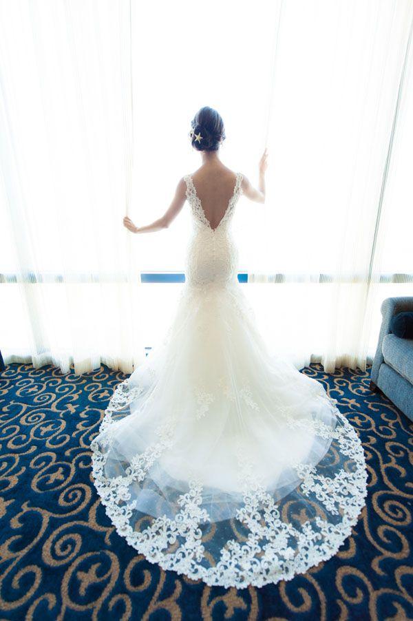 Allure Couture wedding gown #Wedding