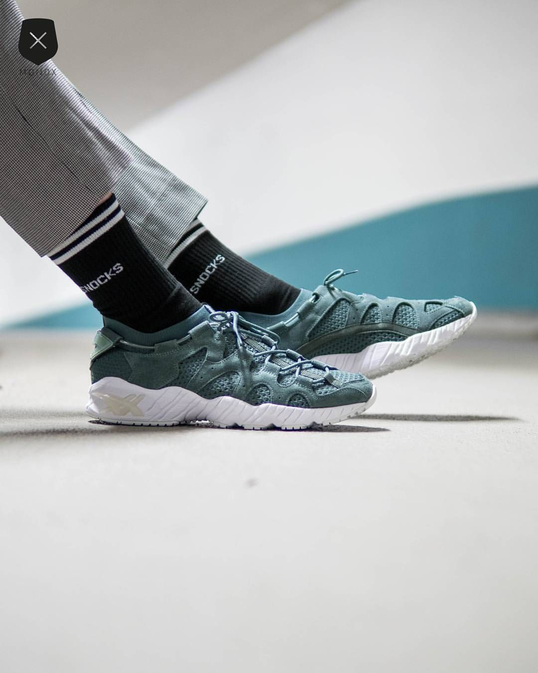 check out 7f337 9a800 Asics Gel-Mai Knit: Teal Green | Sneakers: Asics Gel Mai ...