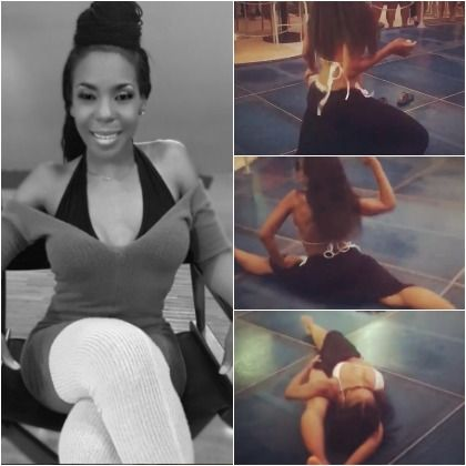 Fitnessgoals Drea Kelly Shakes Quite The Tailfeather And Deservedly Goes Viral Kelly Fitnessgoals Twerk