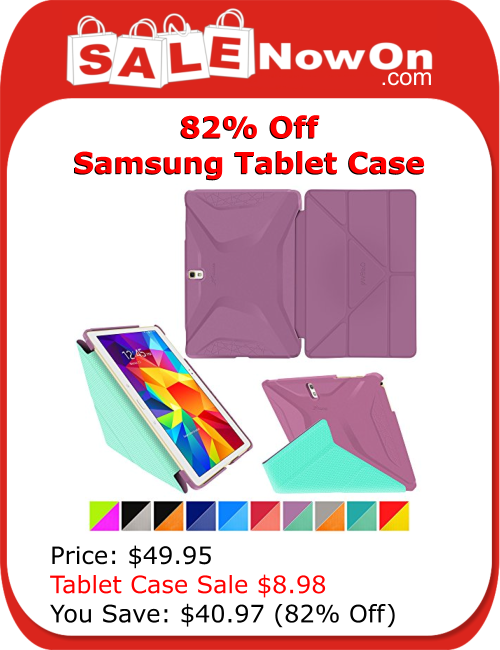 sale now on keep your samsung galaxy tab s 105 stylishly well protected in the roocase origami 3d slim shell case specifically made for samsung galaxy