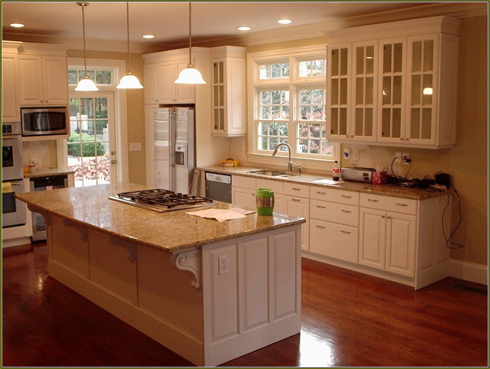 Home Depot Kitchen Cabinets Home Design Ideas Refacing Refinishing Endearing Home Depot Kitchen Doors Design Ideas