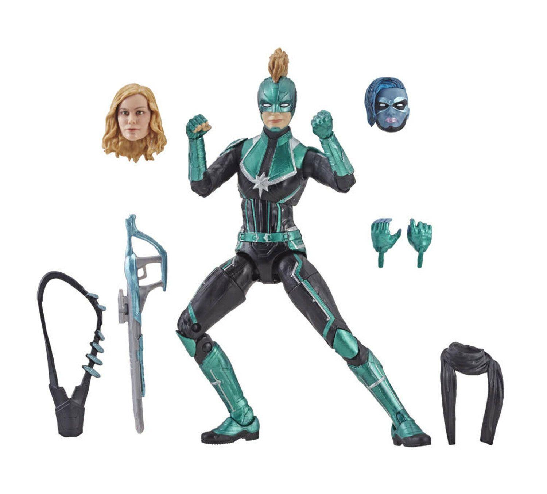 "Captain Marvel Starforce Marvel Legends Target Exclusive figure 6/"" loose Hasbro"