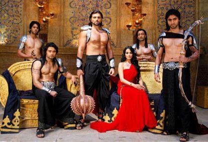 Modern version of Pandava & Draupadi by Ekta Kapoor. | Backless dress  formal, Formal dresses, Backless dress