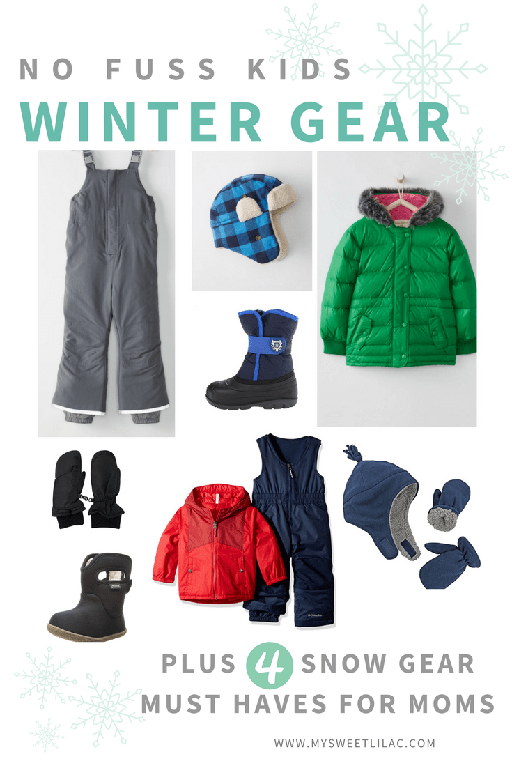 a8a73385d39a No Fuss Kids Winter Gear for Snow Play