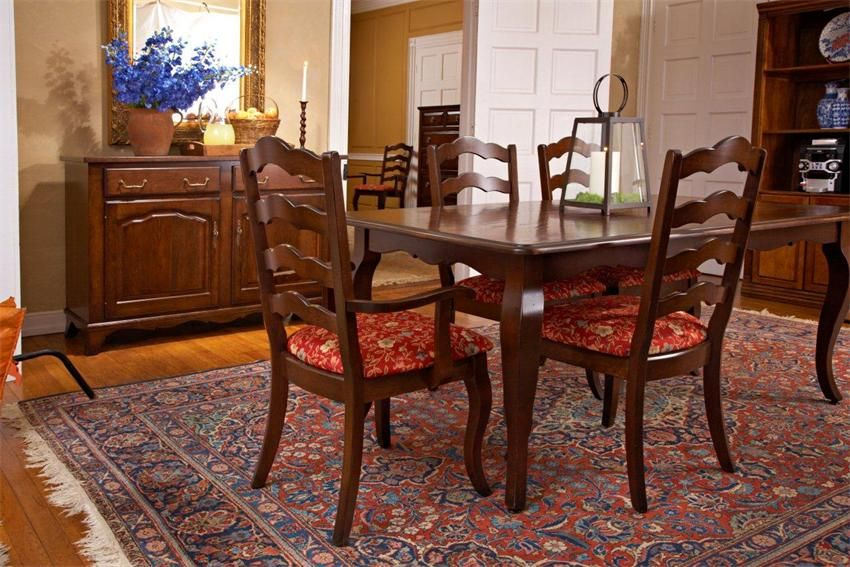 Avignon Self-Storing Leaf Dining Table by Keystone ...