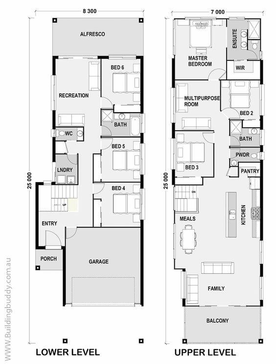 Maleleuca - Small Lot House Floorplan by http://www.buildingbuddy ...