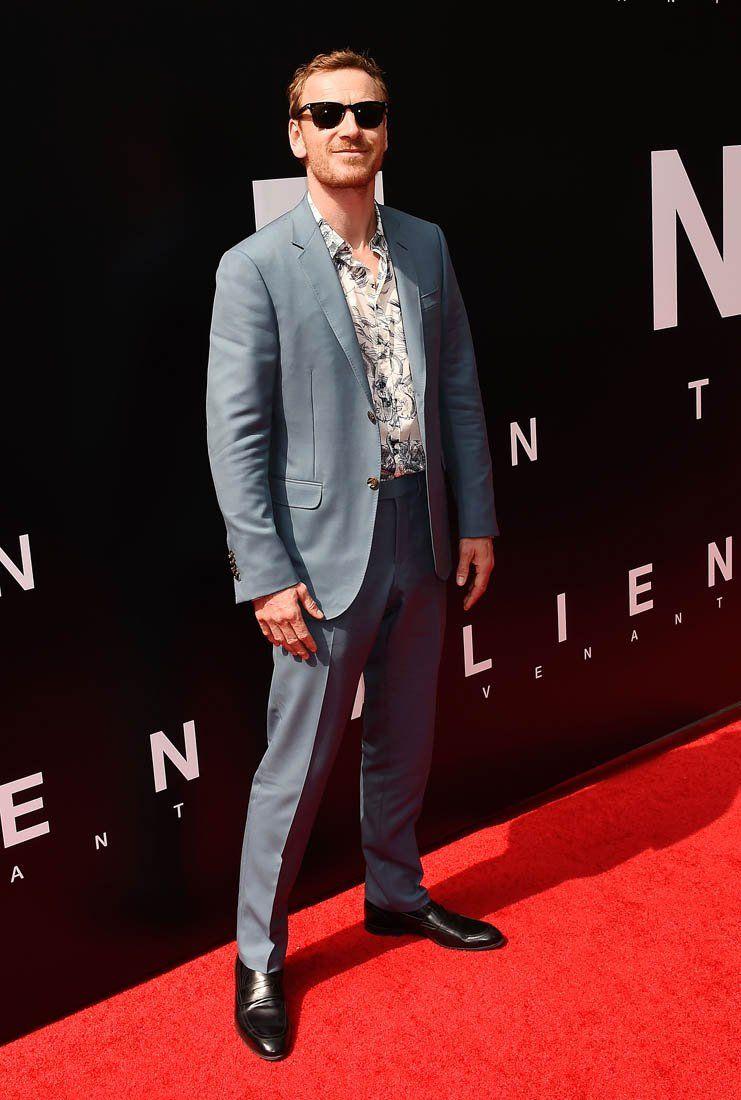 Michael Fassbender attends the Sir Ridley Scott Hand and Footprint