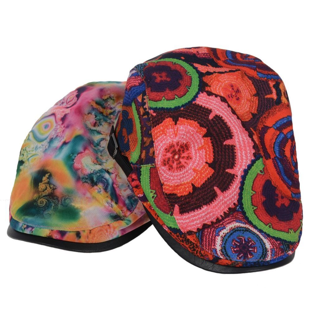 16ed43fcace Newsboy Beret Hat Red Hawaii Tie Dye Floral Cabbie Golf Cap Hunting New  Goldtop  Goldtop  Beret