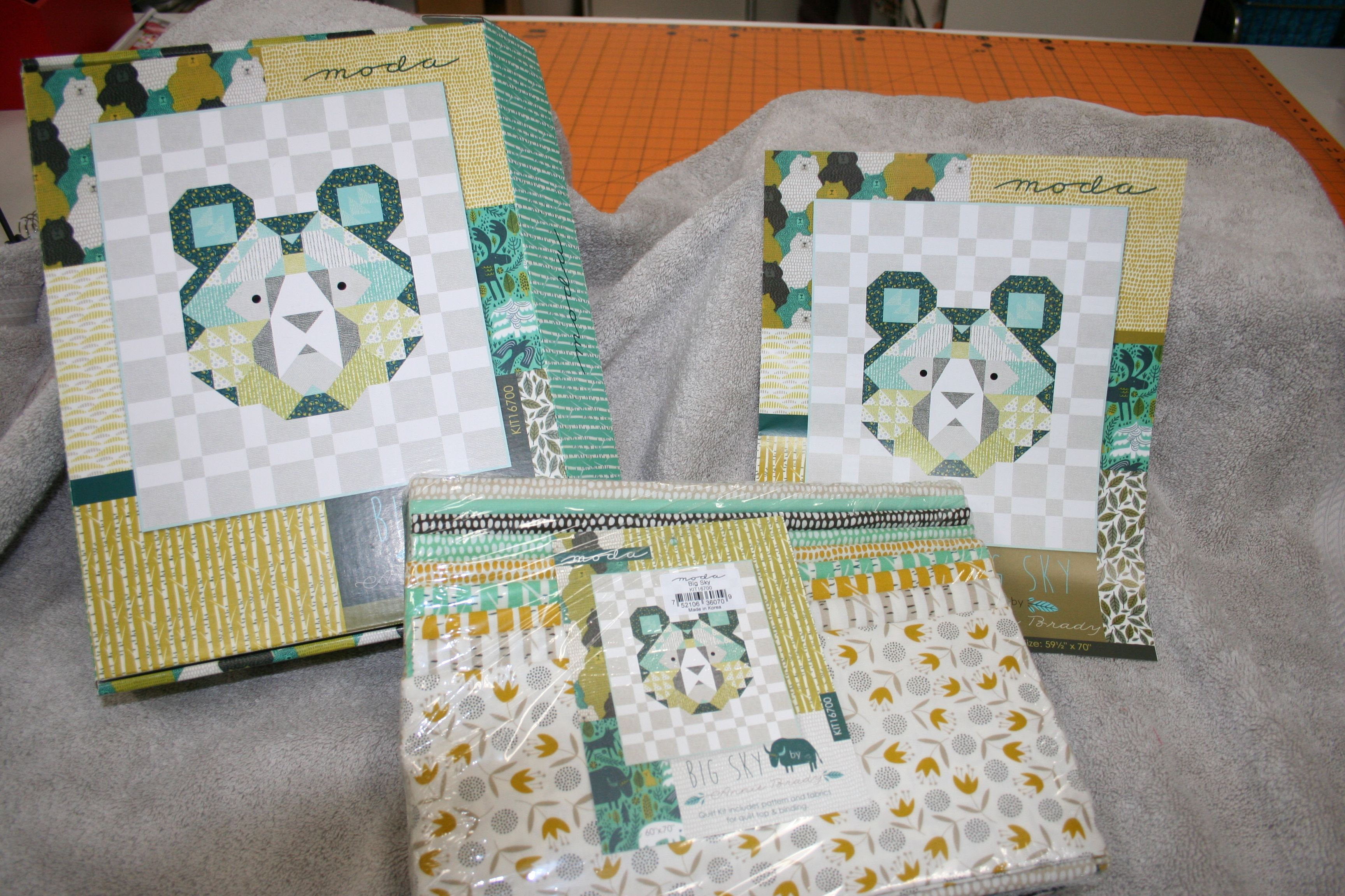 Big Sky Quilt Kit By Moda 59 1 2 X 70 Sky Quilt Quilt Kit Quilts