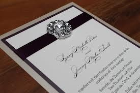 wedding invitations with bling