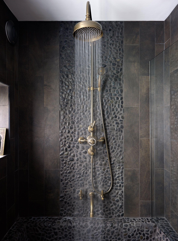 Carrelage Mural Salle De Bain Imitation Pierre ~ Douche Salledebains Samuelheath R Tro Shower Interiordesign